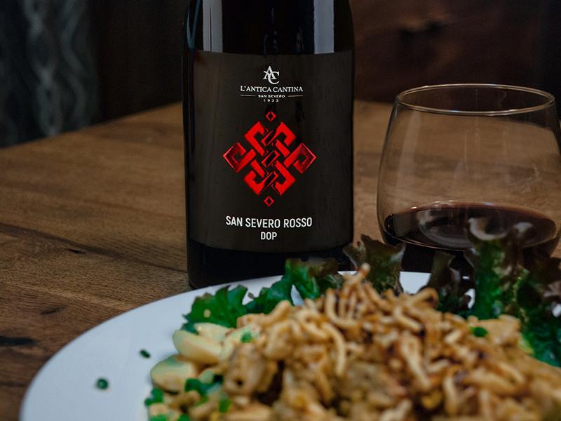 "Castrum – Rosso – San Severo DOP: Vincitore del premio ""Berliner Wine Trophy"""